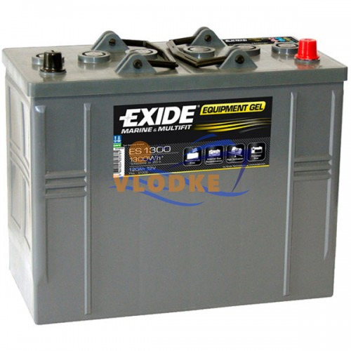 Аккумулятор Exide Equipment Gel 120АЧ, код: ES1300